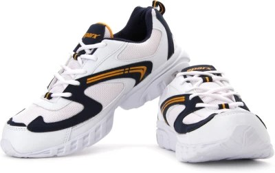 Sparx Running Shoes(White, Navy, Yellow)