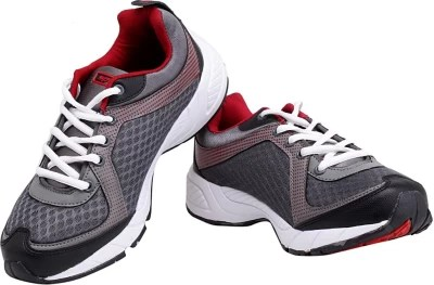 Sparx Trendy Grey and Red Running Shoes(Grey, Red)