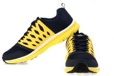 Sparx Running Shoes(Navy, Blue, Yellow)
