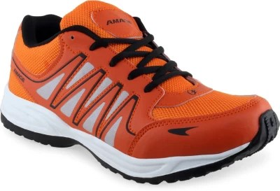 Lancer Running Shoes(Orange, Black)