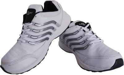 Lancer Lcr Jj-145 White & Black Running Shoes(White, Black)