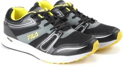 Fila Running Shoes(Black, Grey)