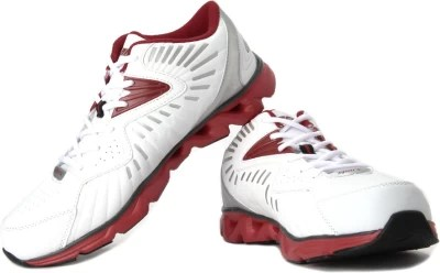 Sparx Running Shoes(Silver, Red, White)