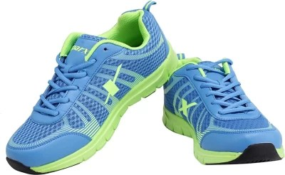 Sparx Awesome Royal Blue Running Shoes(Blue, Green)