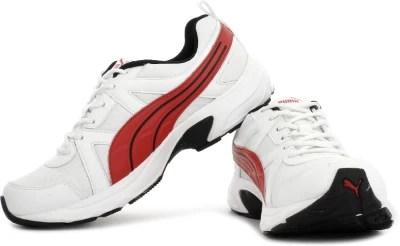 Puma Men Running Shoes(Red, White)
