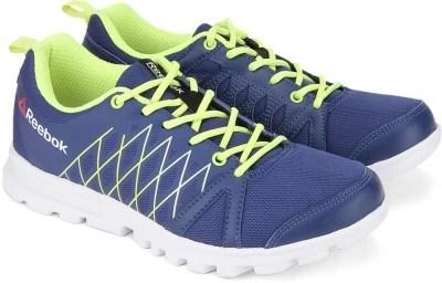 Reebok PULSE RUN Men Running Shoes(Blue, Green)