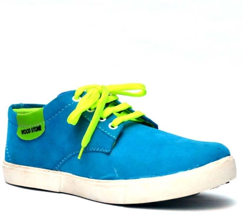 Vogue Guys Sky Blue Casual Shoes(Blue)
