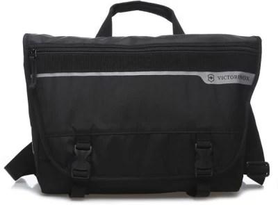 Victorinox CH-97 2.0 Laptop Messenger Small Travel Bag(Black)