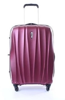 Vip Verve 4w Pro 65 Cm With TSA Check-in Luggage - 24.5 inch(Chery Red)