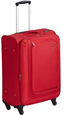 Carlton clifton Expandable  Check-in Luggage - 26 inch(red)
