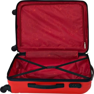 Safari Vivid Exclusive 4wh Expandable  Check-in Luggage - 30 inch(Red2)