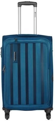 Safari Lino Expandable  Cabin Luggage - 55 inch(Blue)