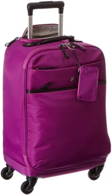 Victorinox Victoria Ambition Global Carry-On With Tablet / eReader Pocket Cabin Luggage - 20 inch(Orchid)