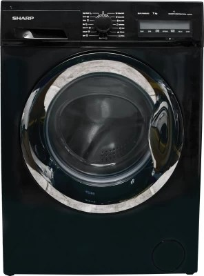 Sharp 7 kg Fully Automatic Front Load Washing Machine(ES-FL74MD6-BC)