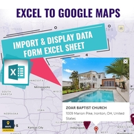 Excel Sheet To Google Maps