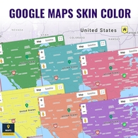 Google Maps Skin Color