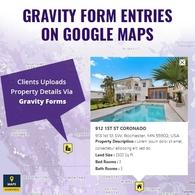 Gravity Form Data On Google Maps