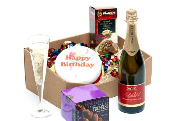 Happy Birthday Hamper Birthday Cakes United Kingdom