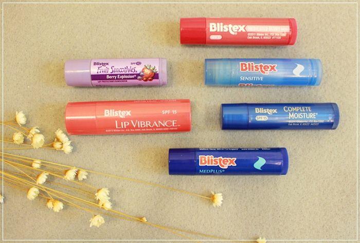 【護唇膏心得】美國Blistex碧唇護唇膏~三支新品:全效修護/完全水感/草莓蘇打