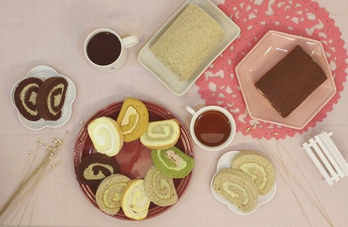 【彌月蛋糕推薦】最文青的彌月蛋糕~小茶栽堂小茶捲(最推黃槴烏龍茶小茶捲)