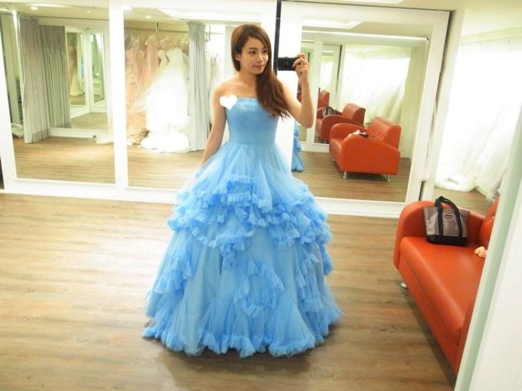 【婚紗試穿】L'amour手工精品婚紗x8件禮服試穿分享