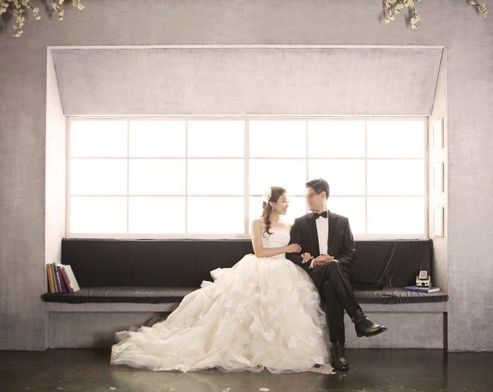 【韓國夢幻婚紗之旅】準備變身韓妞新娘:AZURER星級化妝室的妝髮梳化