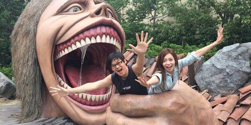 【USJ-日本大阪環球影城】PART1.進擊的巨人
