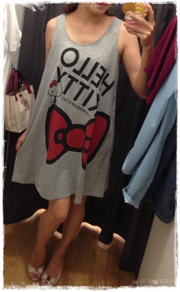【OL穿搭】小資OL的輕熟女穿搭☻Uniqlo拼接連身洋裝☻