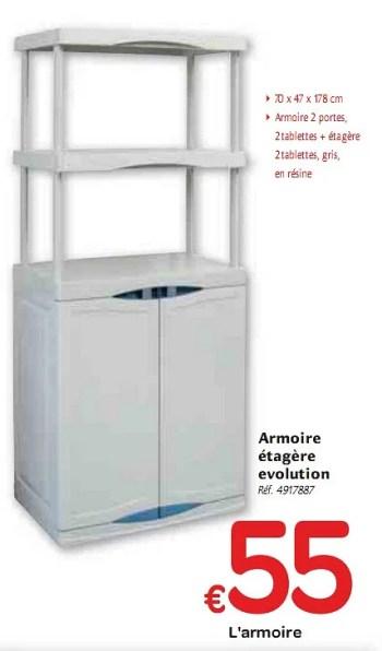 armoire etagere evolution