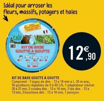 https www promobutler be fr e leclerc promotions promotion huismerk eleclerc chez e leclerc kit de base goutte a goutte goutte a goutte irrigation et de pulverisation id 3755854