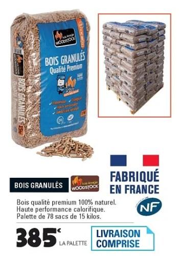bois granules