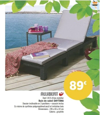 https www promobutler be fr geant casino promotions promotion allibert chez geant casino bain de soleil daytona lit bain de soleil meubles de jardin id 3793439