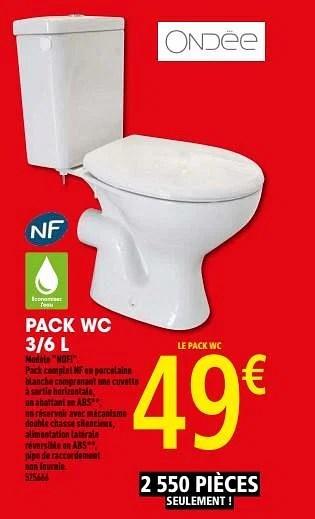 pack wc 3 6 l nofi