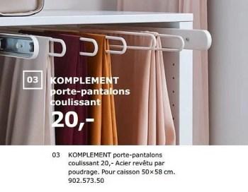 https www promobutler be fr ikea promotions promotion produit maison ikea chez ikea komplement porte pantalons coulissant accessoires garderobe chambre a coucher id 4744065