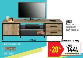 meuble tv arty