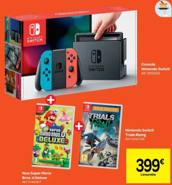 console nintendo switch new super mario bros u deluxe nintendo switch trials rising