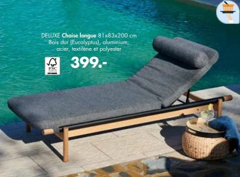 deluxe chaise longue