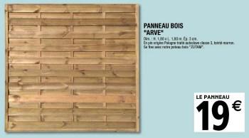 Promotion Brico Depot Panneau Bois Arve Blooma Jardin Et Fleurs Valide Jusqua 4 Promobutler