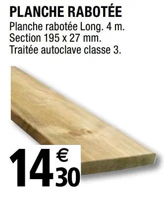 Promotion Brico Depot Planche Rabotee Produit Maison Brico Depot Bricolage Valide Jusqua 4 Promobutler
