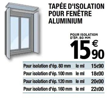 Promotion Brico Depot Tapee D Isolation Pour Fenetre Aluminium Produit Maison Brico Depot Construction Renovation Valide Jusqua 4 Promobutler
