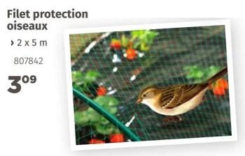 Promotion Mr Bricolage Filet Protection Oiseaux Produit Maison Mr Bricolage Jardin Et Fleurs Valide Jusqua 4 Promobutler