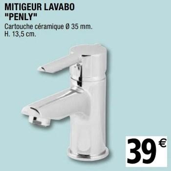 mitigeur lavabo penly