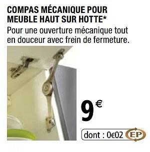 Promotion Brico Depot Compas Mecanique Pour Meuble Haut Sur Hotte Produit Maison Brico Depot Cuisine Salle De Bain Valide Jusqua 4 Promobutler