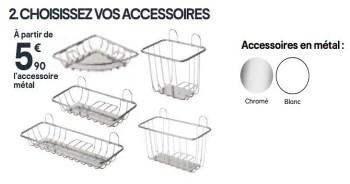 Promotion Castorama Choisissez Vos Accessoires Produit Maison Castorama Cuisine Salle De Bain Valide Jusqua 4 Promobutler