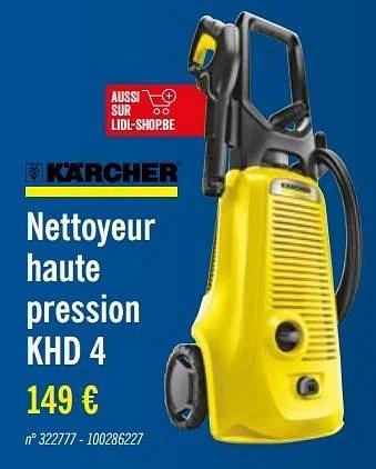 karcher nettoyeur haute pression khd 4