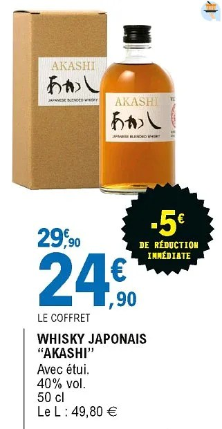 whisky japonais akashi
