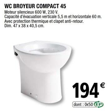 wc broyeur compact 45