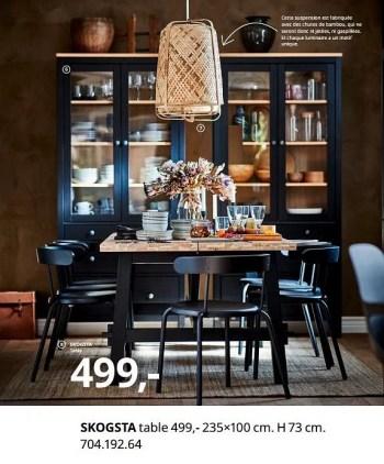 skogsta table