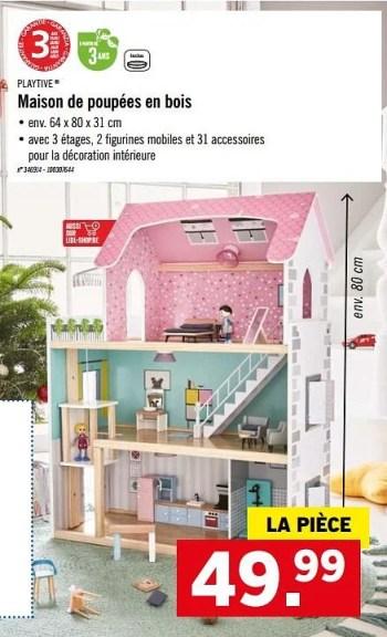 maison de poupees en bois