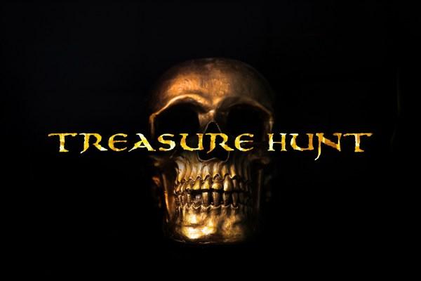 Treasurehunt Font | JoannaVu | FontSpace